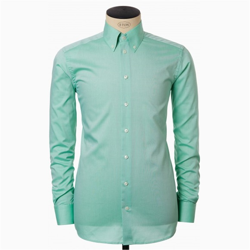 green button down shirt eton