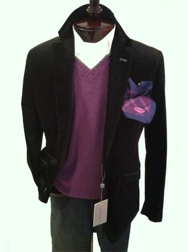 Custom Designed Sport Jacket - Cotton Velour