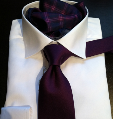 Eton Shirt , Tie and Pocket Square NYC