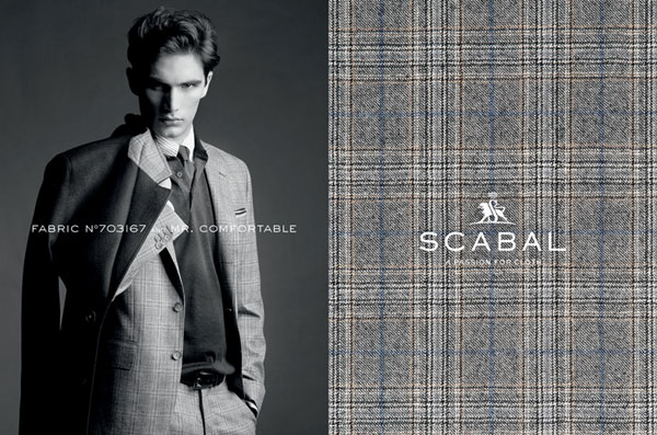 Scabal Custom Suit Fabric 5