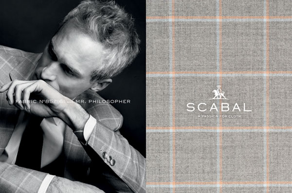 Scabal Custom Suit Fabric 4