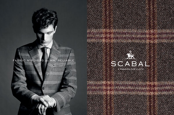 Scabal Custom Suit Fabric 3
