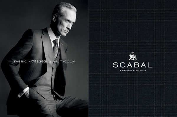 Scabal Custom Suit Fabric 2