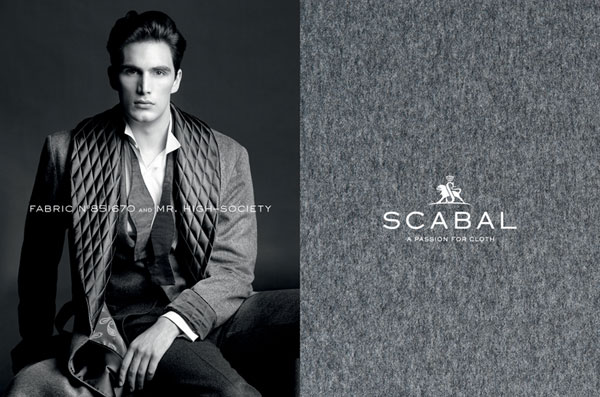 Scabal Custom Suit Fabric 1
